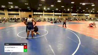 285 lbs Final - Devin Kinlicheenie, Painted Desert WC vs Jamikael Lytle, Poway Elite