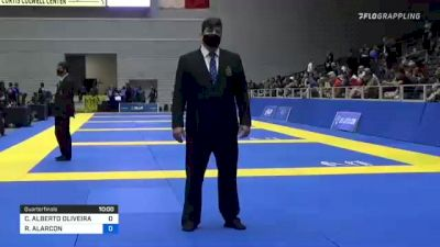 CARLOS ALBERTO OLIVEIRA DA SILVA vs RICHARD ALARCON 2021 World IBJJF Jiu-Jitsu No-Gi Championship