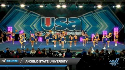 Angelo State University [2020 Fight Song -- College -- Cheer Day 2] 2020 USA Spirit Nationals