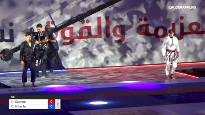 Hiago George vs Carlos Alberto Da Silva Abu Dhabi World Professional Jiu-Jitsu Championship