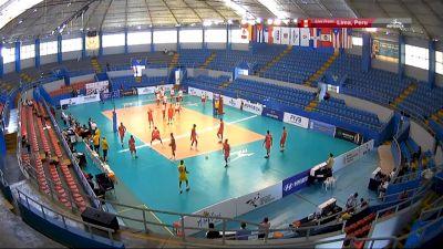 Full Replay - 2019 NORCECA U-21 Mens Pan-American Cup - NORCECA U-21 Mens Pan-American Cup - May 6, 2019 at 1:48 PM CDT