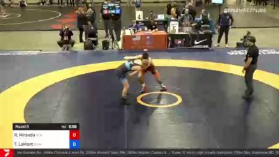 60 kg Prelims - Randon Miranda, New York Athletic Club vs Taylor LaMont, Sunkist Kids Wrestling Club