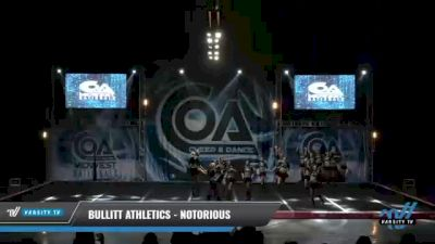 Bullitt Athletics - Notorious [2021 L6 Senior Open Day 1] 2021 COA: Midwest National Championship