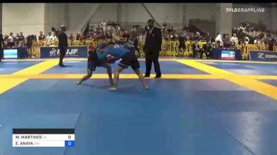 MATTHEW MARTINES vs ED ANAYA 2021 American National IBJJF Jiu-Jitsu Championship
