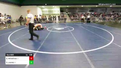 170 lbs Round Of 128 - Solo Mthethwa, VA vs Gabriel Juarez, SC