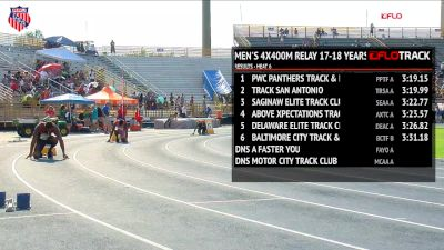 Boys' 4x400m Relay, Finals 7 - Age 17-18