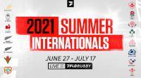 2021 Summer Internationals