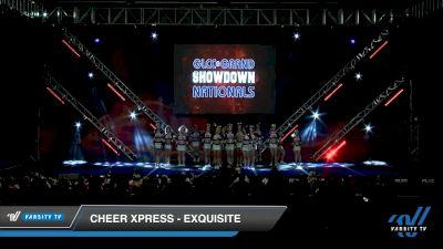 Cheer Xpress - EXQUISITE [2020 L3 Senior - Small Day 2] 2020 GLCC: The Showdown Grand Nationals