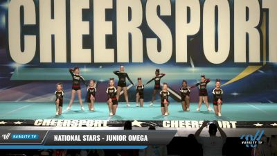 National Stars - Junior Omega [2021 L1 Junior - Novice - D2 Day 1] 2021 CHEERSPORT: Charlotte Grand Championship