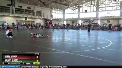 50 lbs Round 1 (4 Team) - Shataya McNack, Missouri Blue vs Kennedy Wheeler, Indiana INFERNO BLACK