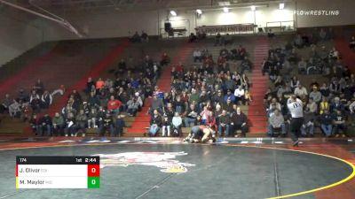 174 lbs Jacob Oliver, Edinboro vs Max Maylor, Michigan