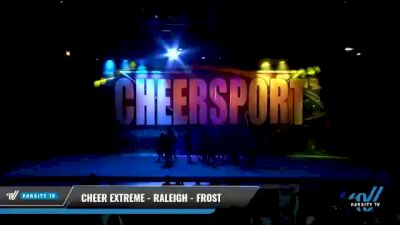 Cheer Extreme - Raleigh - Frost [2021 L2 - U17 Day 2] 2021 CHEERSPORT National Cheerleading Championship