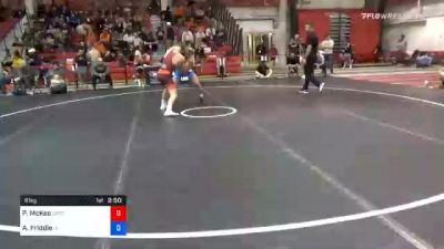 61 kg Prelims - Patrick McKee, Gopher Wrestling Club - RTC vs Alex Friddle, Iowa