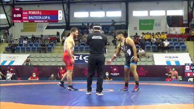 92 kg Rr Rnd 4 - Jeremy Adam Poirier, Canada vs Angel Asuncion Bautista Lopez, Mexico