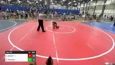 65 lbs Rr Rnd 1 - Cayden Scharf, Firebird Elite vs Ava Ocampo, Elite Athletic Club
