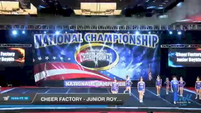 Cheer Factory - Junior Royals [2021 L2 Junior - D2 - A Day 3] 2021 ACP Southern National Championship