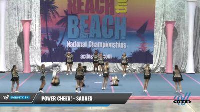 Power Cheer! - Sabres [2021 L5 Senior] 2021 Reach the Beach Daytona National