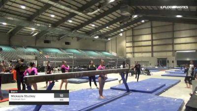 Mickayla Stuckey - Beam, Cincinnati Gym - 2019 Buckeye Classic