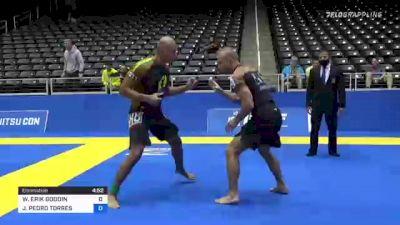 WILLIAM ERIK GOODIN vs JUAN PEDRO TORRES 2021 World IBJJF Jiu-Jitsu No-Gi Championship