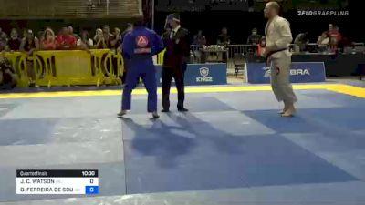JOSEPH C. WATSON vs OTAVIO FERREIRA DE SOUSA 2020 Pan Jiu-Jitsu IBJJF Championship