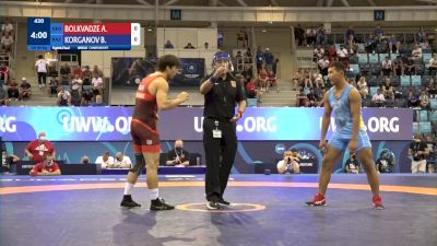 80 kg 1/8 Final - Achiko Bolkvadze, Georgia vs Beibit Korganov, Kazakhstan