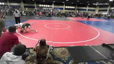 160 lbs Round Of 16 - Sam May, Sanderson Wr Ac vs Wyatt Powell, Grindhouse WC