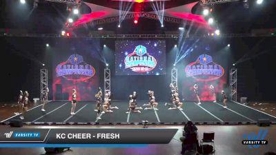 KC Cheer - FRESH [2019 Senior 5 Day 2] 2019 America's Best National Championship