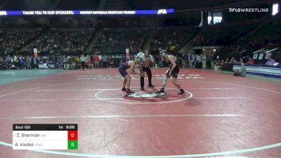 141 lbs Prelims - A.J. Vindici, Penn vs Zach Sherman, North Carolina