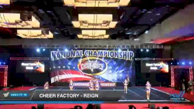 Cheer Factory - Reign [2021 L3 Senior Coed - D2 Day 3] 2021 ACP Southern National Championship