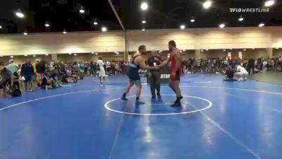 130 kg Quarterfinal - Jason Prenevost, Oregon vs Joseph T Bellavia, Mira Mesa High School Wrestling