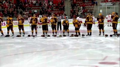 2018 Minnesota vs Wisconsin | Big Ten Women's Hockey
