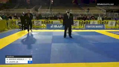 ABRAAO AMORIM MAGALHAES vs RAFAEL LOVATO JR. 2020 World Master IBJJF Jiu-Jitsu Championship