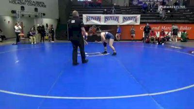 191 lbs Prelims - Natalia Villegas, Grand View vs Elisa Robinson, Baker