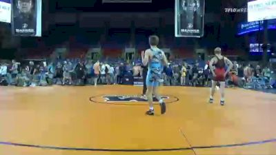 120 lbs Round Of 16 - William Heger, Oklahoma vs Jett Strickenberger, Colorado