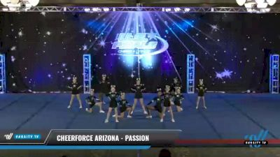 CheerForce Arizona - Passion [2021 L1.1 Youth - PREP - Small Day 2] 2021 The U.S. Finals: Phoenix