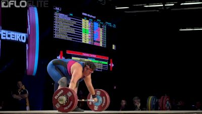 Sarah Robles (USA, +90) Wins Gold At 2017 Worlds In The Snatch With This 126kg Lift