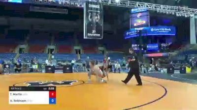 76 kg Rr Rnd 2 - Taryn Martin, Ohio vs Hunter Robinson, Grand View Wrestling Club