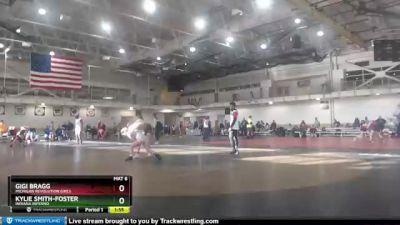 100 lbs Round 1 - Gigi Bragg, Michigan Revolution Girls vs Kylie Smith-Foster, Indiana Inferno