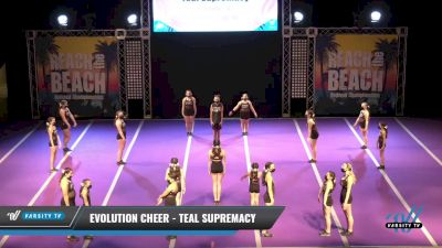 Evolution Cheer - Teal Supremacy [2021 L1 Junior - D2 Day 1] 2021 ACDA: Reach The Beach Nationals