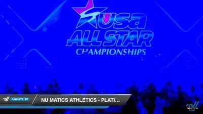 Nu Matics Athletics - Platinum [2019 Youth - D2 1 Day 2] 2019 USA All Star Championships