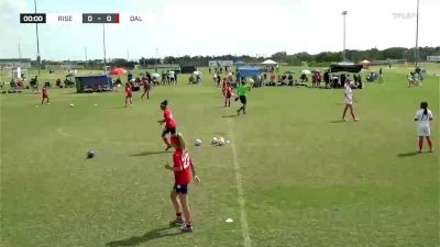 Rise SC Rise 09G Elite 1C vs. FC Dallas Youth 09G West - 2020 Premier Supercopa