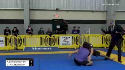 ANTHONY CHRISTOPHER ORTIZ vs LEWIS PAUL MCLENDON 2020 American National IBJJF Jiu-Jitsu Championship