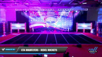 CTA Highflyers - Rebel Rockets [2021 L1 Mini - D2 Day 1] 2021 ACP: Midwest World Bid National Championship
