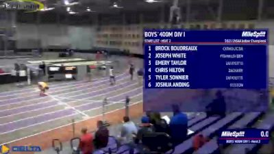 High School Boys' 400m Division 1, Finals 2