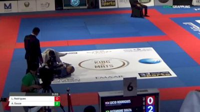Lucio Rodrigues vs Alexandre Souza Abu Dhabi King of Mats 2018 | Grappling