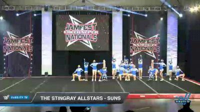 The Stingray Allstars - Suns [2021 L2 Junior - Small Day 2] 2021 JAMfest Cheer Super Nationals