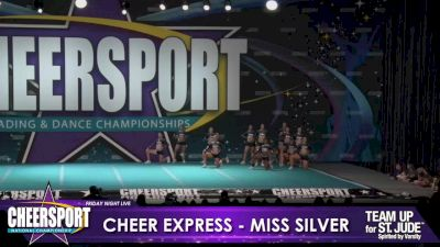 Cheer Express - Miss Silver [2020 L6 Senior XSmall Day 1] 2020 CHEERSPORT Nationals: Friday Night Live