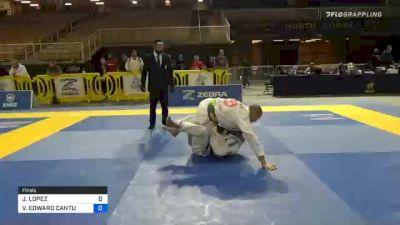 JOSEPH LOPEZ vs VICTOR EDWARD CANTU 2020 World Master IBJJF Jiu-Jitsu Championship
