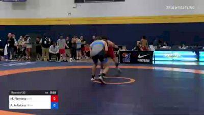 74 kg Round Of 32 - Maurice Fleming, Blue Claw Wrestling Club vs Anthony Artalona, Pennsylvania RTC
