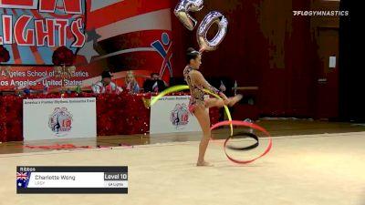 Charlotte Wong - Ribbon, LRGY - 2020 LA Lights Tournament of Champions